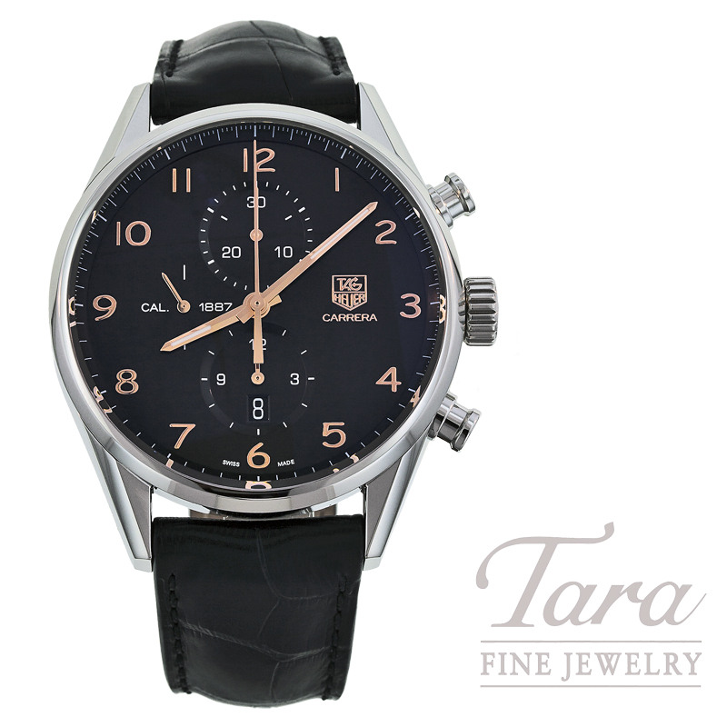 Tag Heuer Watch 43mm Carrera Chronograph
