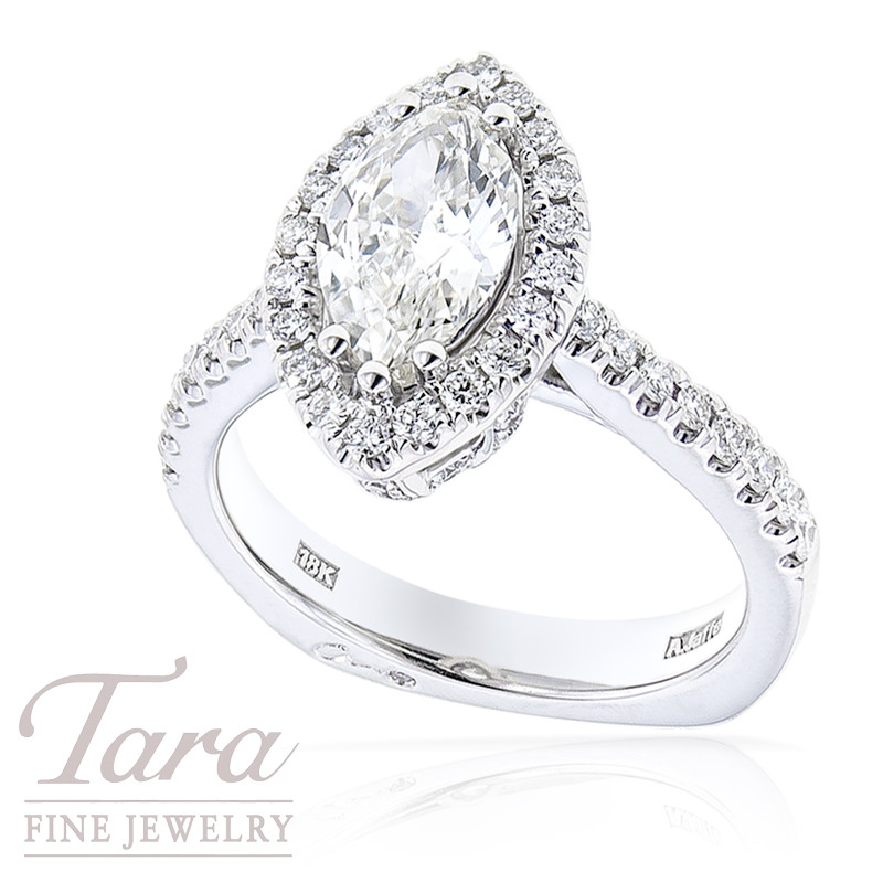 A. Jaffe Marquise Diamond Engagement Ring, 1.60 TDW