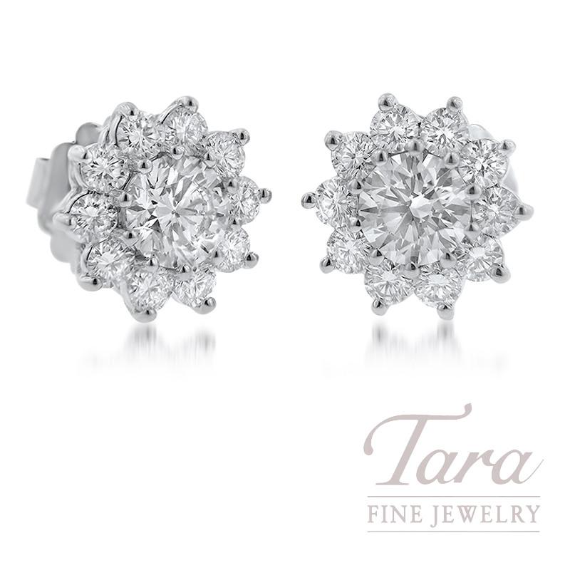 Forevermark Diamond Earrings, 2.05TDW
