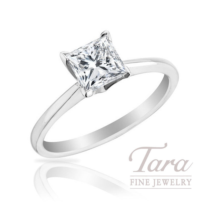 Forevermark Princess Cut Diamond Solitaires - Click for a List of Our Many Sizes in Stock