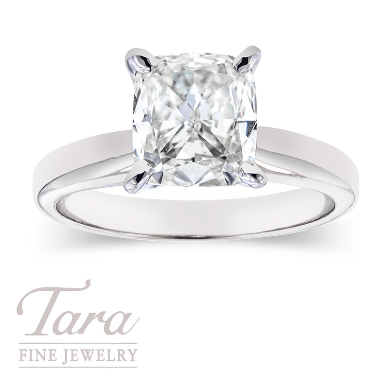 Forevermark Cushion Cut Solitaires - Click for Our Sizes in Stock!