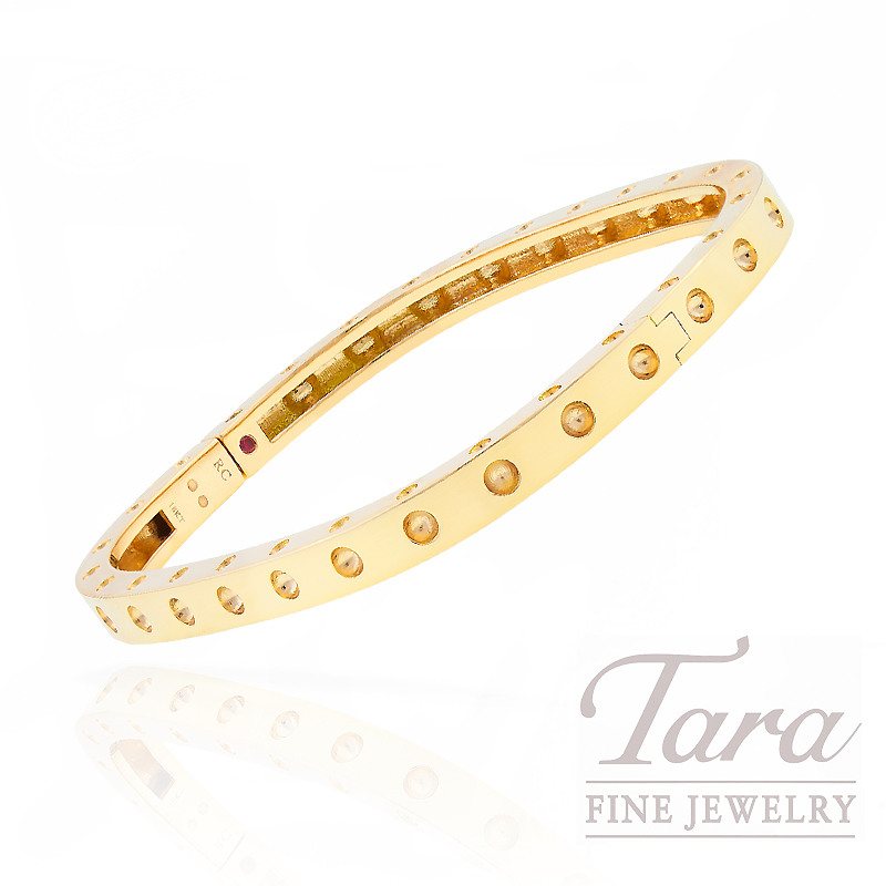"Roberto Coin Bracelet in 18k Yellow Gold ""Pois Moi Collection"""