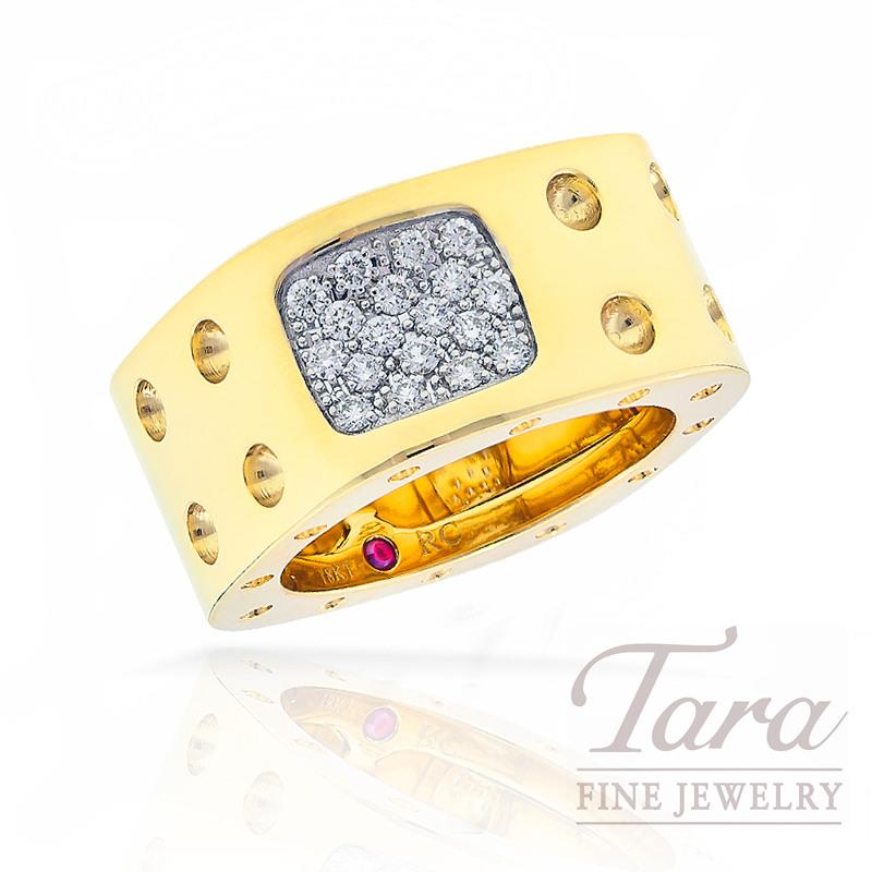 Roberto Coin Diamond Ring Pois Moi Collection, .28tdw