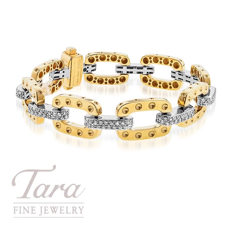 Roberto Coin Pois Moi Bracelet 18K Yellow Gold 2.60TDW
