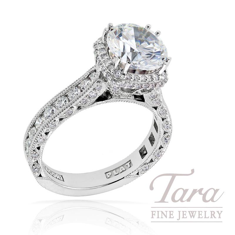 Tacori Diamond Engagement Ring in Platinum, 1.21 ctw