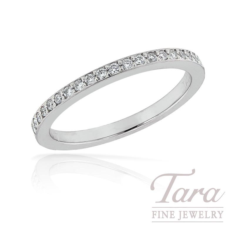 Tacori Diamond Wedding Band in Platinum, .17TDW, 3.4G