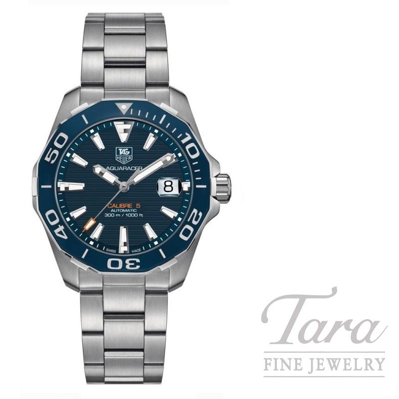 Tag Heuer Watch 41mm Aquaracer Automatic 300m Blue