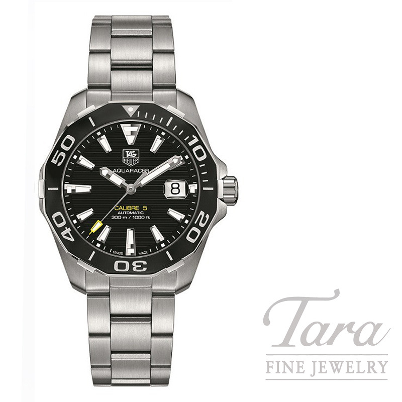 Tag Heuer Watch 41mm Aquaracer Automatic 300M Black