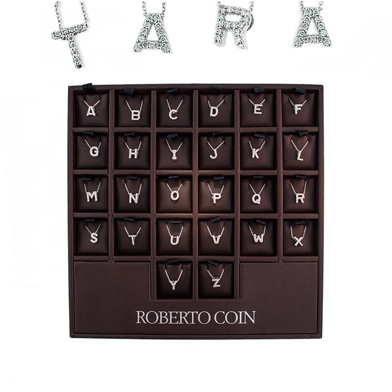 Roberto Coin Initial Pendants