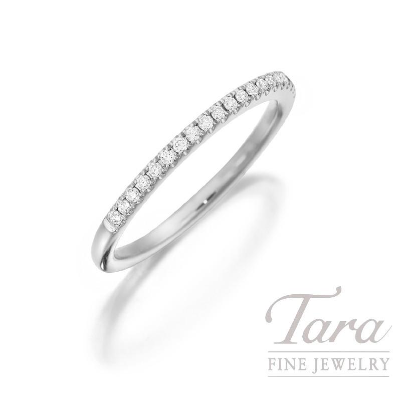 18k White Gold Half-Eternity Diamond Band - Click for Availability!