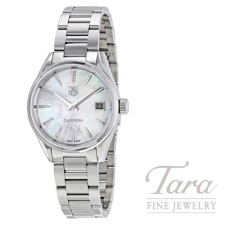 Tag Heuer Watch 32mm Carerra, Mother Of Pearl Dial
