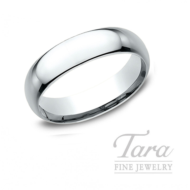 Gentlemen's Platinum Wedding Band - Click for Available Sizes!