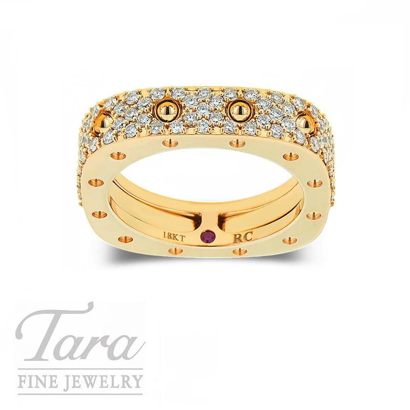 Roberto Coin Ring Rose Gold 18K .67TDW 7G