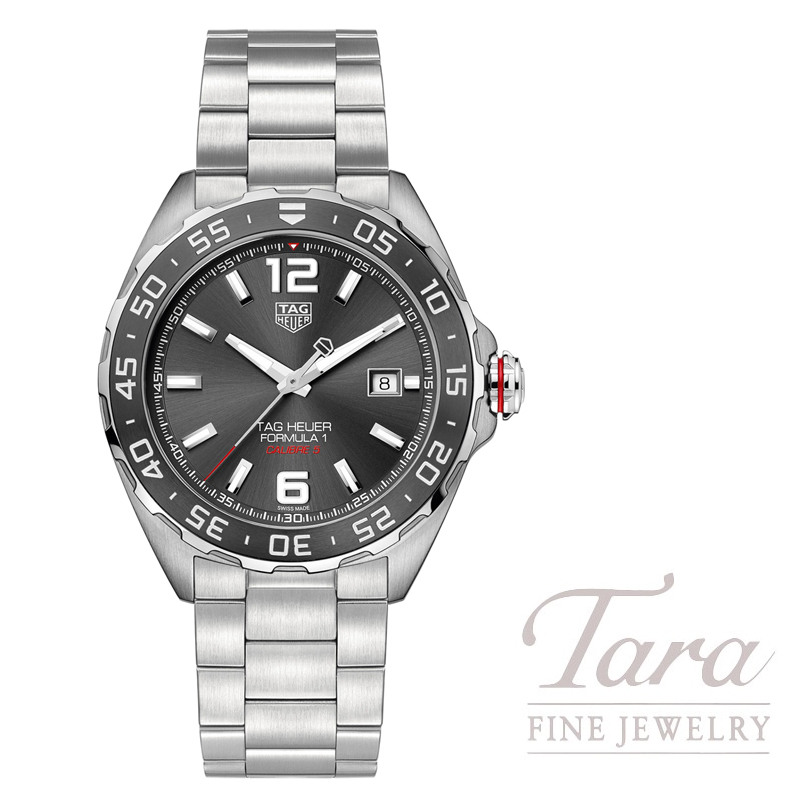 Tag Heuer Watch Formula 1 Automatic, Anthracite Dial - Click for Available Sizes!